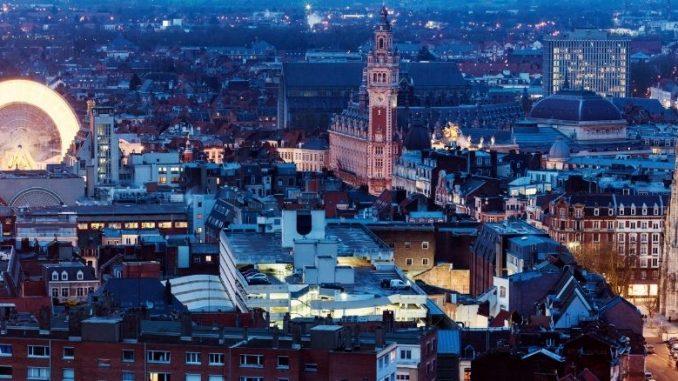 Vieux Lille Vue Du Ciel